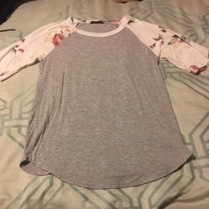 Sweet Claire baseball style top S.